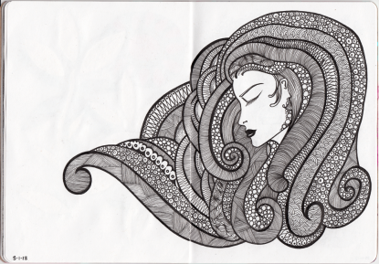 Sketchbook Project Page 18-19