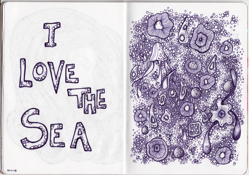 Sketchbook Project Page 20-21