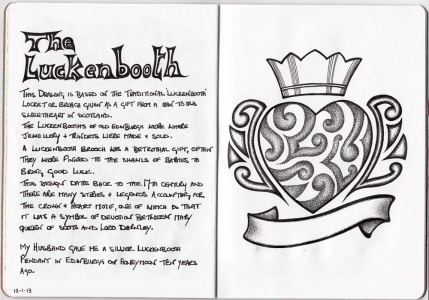 Sketchbook Project Page 22-23