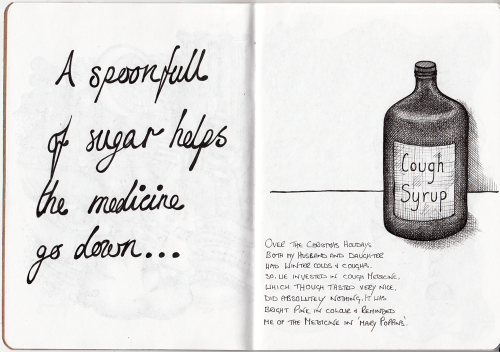 Sketchbook Project Page 6 - 7