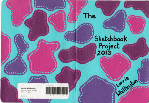 Sketchbook Project Page - cover