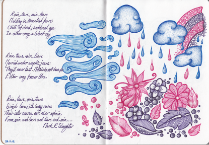 Sketchbook Project Pages 2-3