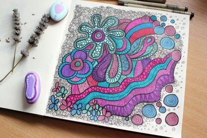 Sketchbook colour