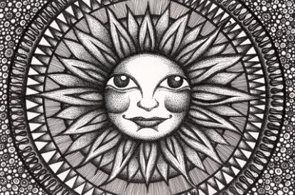 Sun Face - 430