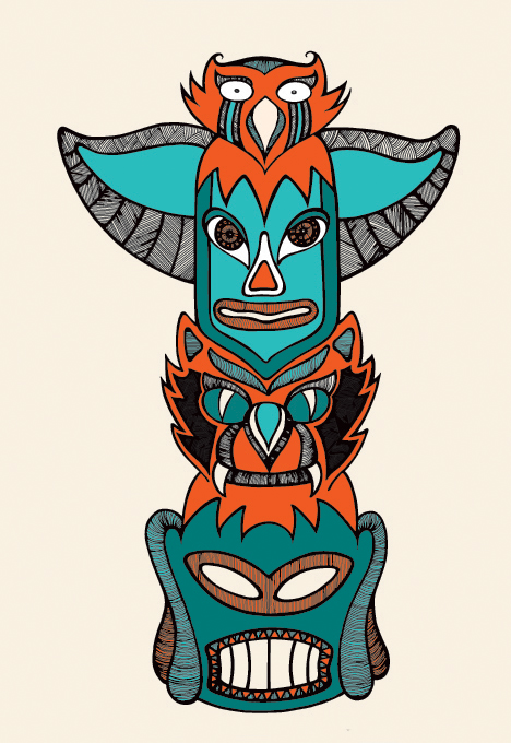 Totem illustration for One Thing I know