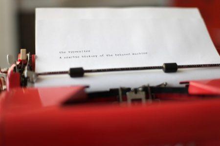 Uppercase - The Typwriter