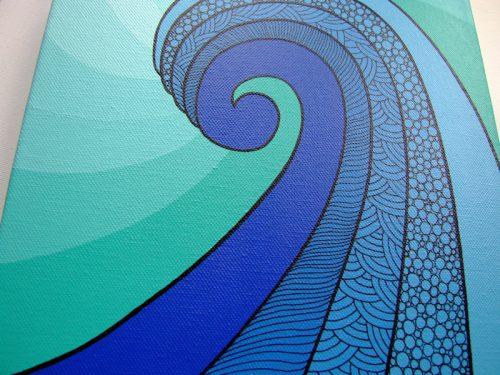 Wave (detail)