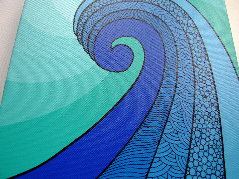 Wave (detail)