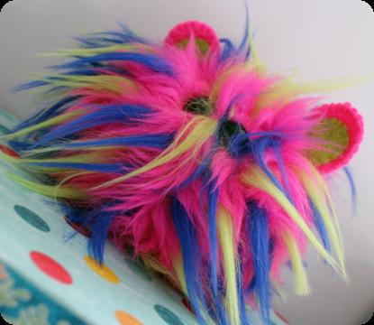 Rainbow Mutant Hamster