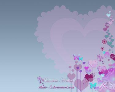 Rainbow Heart Wallpaper